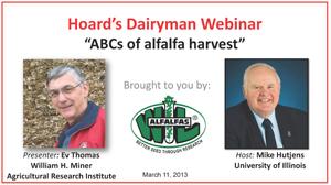 March 2013 Hoard's Dairyman webinar