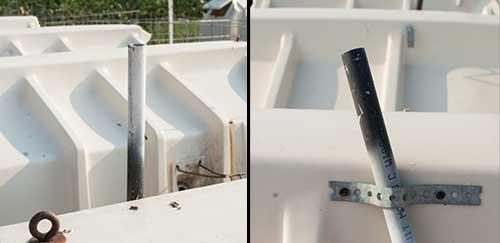 milk or weaned PVC indicators