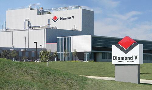 Diamond V corporate campus