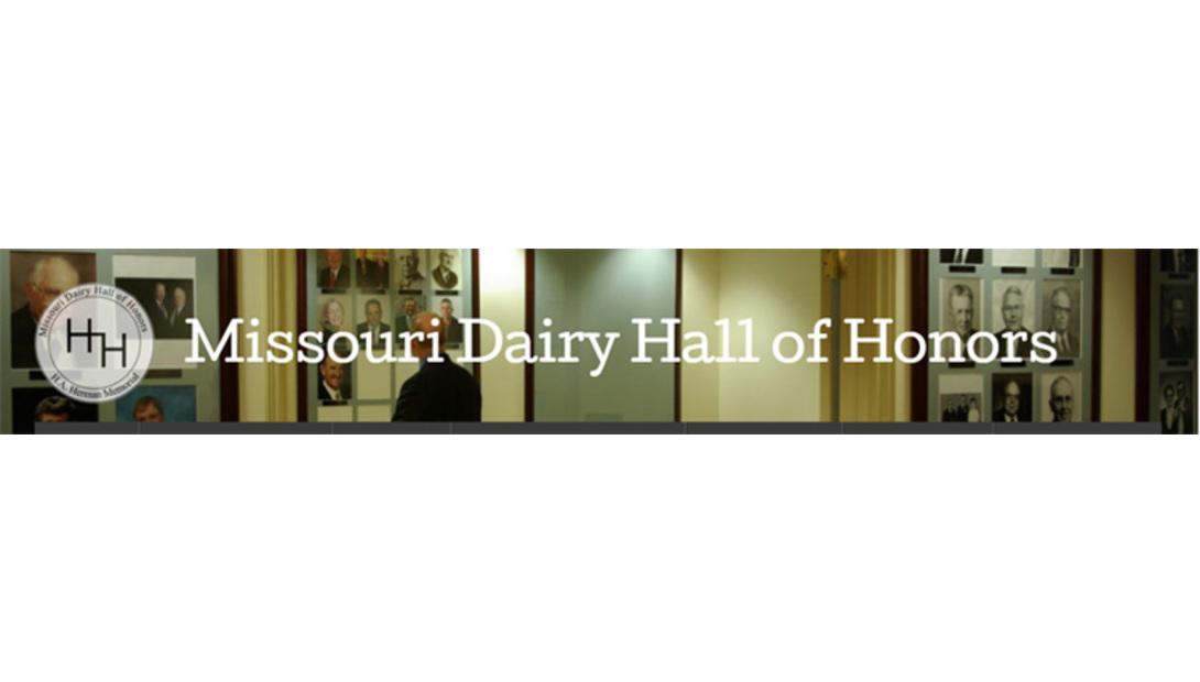 Missouri Dairy Hall of Honors