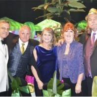 Caption: Craig Seal, Gary Laborde, Barbara Seal, Debbie and Jim Thomas