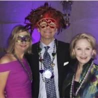 Caption: Marjorie Briley, Kevin Briley and Jan Querbes