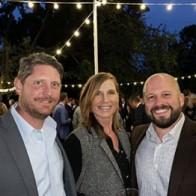 Caption: Rick John, Colleen LeBlanc and PeteJohn
