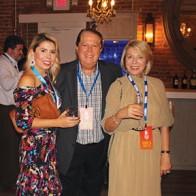 Caption: Sabrina Adsit, Bill and Anca Landwer