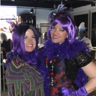 Caption: Janey Macey and Amy Quinn