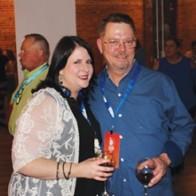Caption: Karen and John Strand