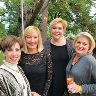 Caption: Peggy Nuckolls, Missy Pou, Debbie Williamson and Jean Cooper