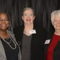 Caption: Judith Lee Taylor, Patty Shelton and Jean Thomas