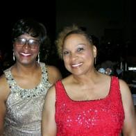Caption: Karen Barnes and Ramona Terrell