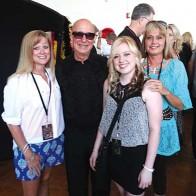 Caption: Nicole Vosbury, Paul Shaffer, Kelly and Mindy Edmonson