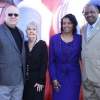 Caption: Shreveport City Councilman James Flurry and wife Pat; City Councilman Willie Bradford and wife Mary