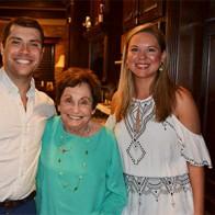 Caption: Dr. Rhett Kent, Gerrie Miller and Katie Ondeck