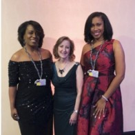 Caption: Tanita Baker, Stacy Brown and Nicole Jefferson