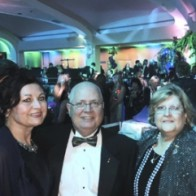 Caption: Lisa and Greg Johnson, Margaret and Ragan Green