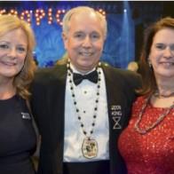 Caption: Judge Katherine Clark Dorroh, Ken and Linda Wright