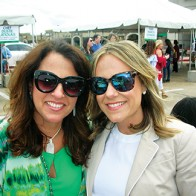 Caption: Tracie Booras and Ginger Collier