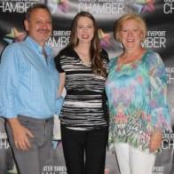 Caption: Jay Covington, Jana Freeman Forrest and Angela Haacker