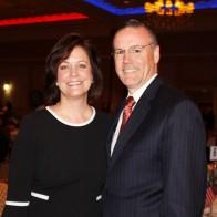 Caption: Dr. Johnette Magner and Dr. Tim Magner President of the Greater Shreveport Chamber of Commerce