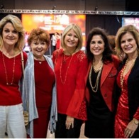 Caption: Melinda Jones, Donna Hartley, Karen Anthony, Maria Casten and Carla Riordan